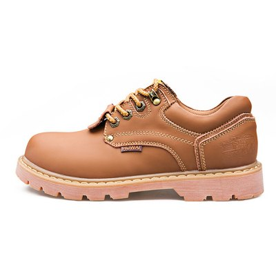 Chic British Style Leather Shoes for MenMens Boots<br>Chic British Style Leather Shoes for Men<br><br>Contents: 1 x Pair of Shoes<br>Materials: Leather, Rubber<br>Occasion: Casual<br>Package Size ( L x W x H ): 33.00 x 22.00 x 11.00 cm / 12.99 x 8.66 x 4.33 inches<br>Package Weights: 0.97kg<br>Seasons: Autumn,Spring,Summer<br>Style: Leisure, Fashion, Comfortable<br>Type: Casual Shoes