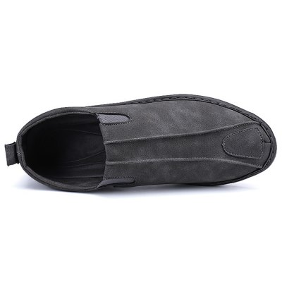 Suede Slip-on Casual Shoes for MenCasual Shoes<br>Suede Slip-on Casual Shoes for Men<br><br>Closure Type: Slip-On<br>Contents: 1 x Pair of Shoes<br>Materials: Rubber, Suede<br>Outsole Material: Rubber<br>Package Size ( L x W x H ): 33.00 x 22.00 x 11.00 cm / 12.99 x 8.66 x 4.33 inches<br>Package Weights: 0.67kg<br>Style: Casual<br>Type: Casual Shoes<br>Upper Material: Suede