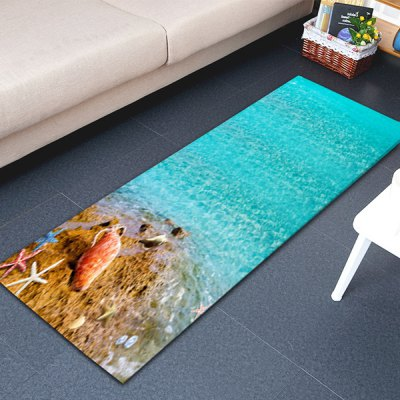 Free Beaches of Hawaii Area Rug 16W x 47L inchCushion<br>Free Beaches of Hawaii Area Rug 16W x 47L inch<br><br>Category: Carpet<br>For: All<br>Material: Polyester fibre, PVC<br>Occasion: Living Room, Kitchen Room, Dining Room, Bedroom<br>Package Contents: 1 x Area Rug<br>Package size (L x W x H): 43.00 x 15.00 x 15.00 cm / 16.93 x 5.91 x 5.91 inches<br>Package weight: 0.3400 kg<br>Product weight: 0.3000 kg<br>Type: Decoration, Eco-friendly