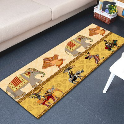 Indian Style Area Rug 16W x 47L inch