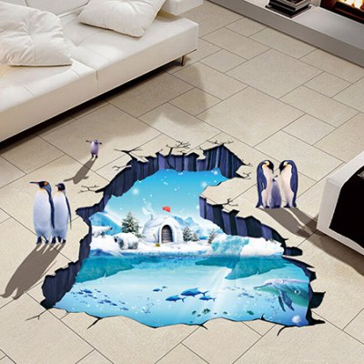 3D Polar Glacier Removable Wall StickerWall Stickers<br>3D Polar Glacier Removable Wall Sticker<br><br>Art Style: Plane Wall Stickers<br>Hang In/Stick On: Bedrooms,Kids Room<br>Package Contents: 1 x Sticker<br>Package size (L x W x H): 41.00 x 4.00 x 1.00 cm / 16.14 x 1.57 x 0.39 inches<br>Package weight: 0.1300 kg<br>Product size (L x W x H): 60.00 x 90.00 x 1.00 cm / 23.62 x 35.43 x 0.39 inches<br>Product weight: 0.1100 kg