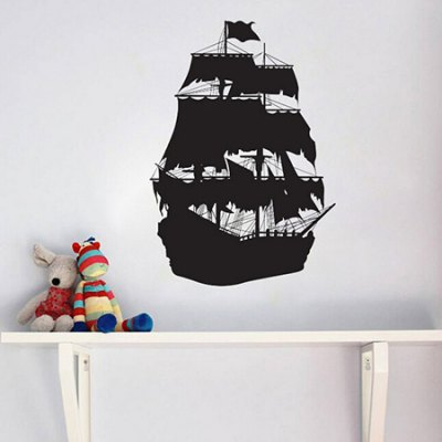 Sail Pattern Waterproof  Home Decor Wall StickerWall Stickers<br>Sail Pattern Waterproof  Home Decor Wall Sticker<br><br>Art Style: Plane Wall Stickers<br>Color Scheme: Black<br>Hang In/Stick On: Bathroom,Bedrooms,Hotels,Living Rooms,Offices<br>Material: Vinyl(PVC)<br>Package Contents: 1 x Sticker<br>Package size (L x W x H): 61.00 x 4.00 x 1.00 cm / 24.02 x 1.57 x 0.39 inches<br>Package weight: 0.1900 kg<br>Product size (L x W x H): 60.00 x 90.00 x 1.00 cm / 23.62 x 35.43 x 0.39 inches<br>Product weight: 0.1700 kg