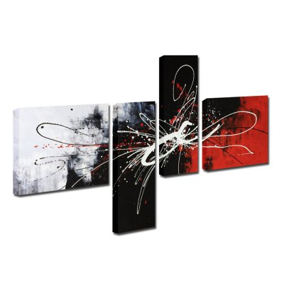 YHHP Canvas Oil Painting Abstract Art Hand Painted Home DecorOil Paintings<br>YHHP Canvas Oil Painting Abstract Art Hand Painted Home Decor<br><br>Brand: YHHP<br>Form: Four Panels<br>Package Quantity: 1 x Painting Set<br>Package size (L x W x H): 82.00 x 62.00 x 15.00 cm / 32.28 x 24.41 x 5.91 inches<br>Package weight: 3.6000 kg<br>Product size (L x W x H): 80.00 x 60.00 x 12.00 cm / 31.5 x 23.62 x 4.72 inches<br>Product weight: 2.8000 kg<br>Shape: Horizontal Panoramic<br>Theme: Abstract