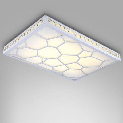Brelong Scandinavian Style Artistic LED Ceiling Light 180 - 240VFlush Ceiling Lights<br>Brelong Scandinavian Style Artistic LED Ceiling Light 180 - 240V<br><br>Features: Square Shape, Remote-Controlled<br>Illumination Field: 7 - 10sqm<br>LED Number : 96<br>Luminous Flux: 2500lm<br>Optional Light Color: Warm White + White<br>Package Contents: 1 x Ceiling Light, 1 x Remote Controller<br>Package size (L x W x H): 70.00 x 50.00 x 15.00 cm / 27.56 x 19.69 x 5.91 inches<br>Package weight: 6.0500 kg<br>Product size (L x W x H): 65.00 x 47.00 x 10.00 cm / 25.59 x 18.5 x 3.94 inches<br>Product weight: 4.3700 kg<br>Sheathing Material: Acrylic<br>Type: Ceiling Lights<br>Voltage (V): 180-240V<br>Wattage (W): &gt;20<br>Wavelength / CCT: 3000-6500K