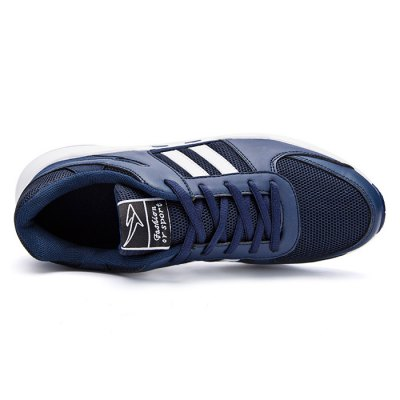 Outdoor PU Soles Casual Shoes for MenMen's Sneakers<br>Outdoor PU Soles Casual Shoes for Men<br><br>Closure Type: Lace-Up<br>Contents: 1 x Pair of Shoes<br>Materials: Mesh, PU, Leather<br>Occasion: Casual<br>Outsole Material: PU<br>Package Size ( L x W x H ): 33.00 x 22.00 x 11.00 cm / 12.99 x 8.66 x 4.33 inches<br>Package Weights: 0.77kg<br>Seasons: Autumn,Spring,Summer<br>Type: Casual Shoes<br>Upper Material: Mesh