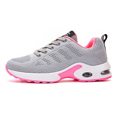 Ladies Air Cushion Leisure ShoesWomens Sneakers<br>Ladies Air Cushion Leisure Shoes<br><br>Closure Type: Lace-Up<br>Contents: 1 x Pair of Shoes<br>Materials: Mesh, PU<br>Occasion: Casual, Daily<br>Outsole Material: PU<br>Package Size ( L x W x H ): 30.00 x 18.00 x 12.00 cm / 11.81 x 7.09 x 4.72 inches<br>Package Weights: 0.73kg<br>Seasons: Autumn,Spring,Summer<br>Style: Leisure, Comfortable<br>Type: Casual Shoes