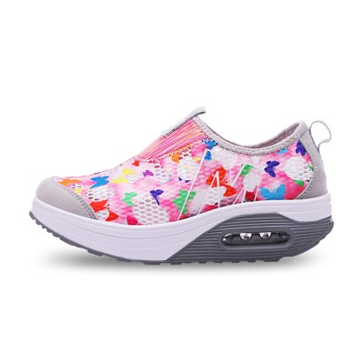 Fashion Thick Soles Shoes for LadiesWomens Sneakers<br>Fashion Thick Soles Shoes for Ladies<br><br>Closure Type: Slip-On<br>Contents: 1 x Pair of Shoes<br>Decoration: Weave<br>Materials: Mesh, PU<br>Occasion: Casual, Daily<br>Outsole Material: PU<br>Package Size ( L x W x H ): 33.00 x 22.00 x 11.00 cm / 12.99 x 8.66 x 4.33 inches<br>Package Weights: 0.57kg<br>Seasons: Autumn,Spring,Summer<br>Style: Leisure, Comfortable, Casual<br>Toe Shape: Round Toe<br>Type: Skateboarding Shoes