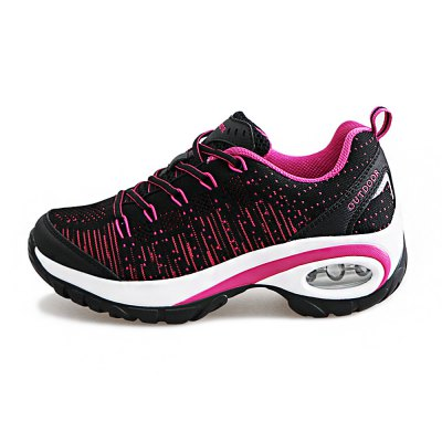 Chic Light Weight Hiking Shoes for WomenWomens Sneakers<br>Chic Light Weight Hiking Shoes for Women<br><br>Closure Type: Lace-Up<br>Contents: 1 x Pair of Shoes<br>Materials: Microfiber, Rubber<br>Occasion: Casual<br>Outsole Material: Rubber<br>Package Size ( L x W x H ): 33.00 x 22.00 x 11.00 cm / 12.99 x 8.66 x 4.33 inches<br>Package Weights: 0.77kg<br>Seasons: Autumn,Spring,Summer<br>Style: Comfortable, Casual<br>Toe Shape: Round Toe<br>Type: Hiking Shoes