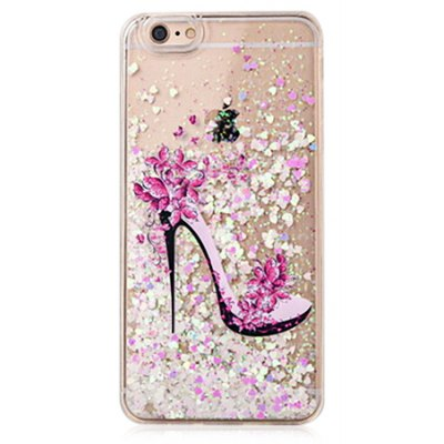 Feminine Heels Glitter Powder Phone Cover for iPhone 6 / 6S