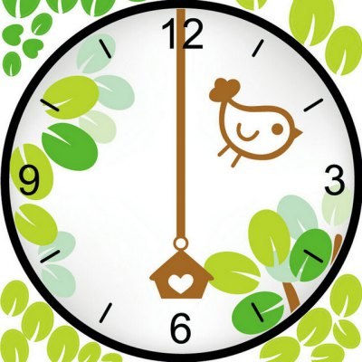 Bird Nest Style Wall Clock StickerWall Stickers<br>Bird Nest Style Wall Clock Sticker<br><br>Material: PVC<br>Package Contents: 1 x Wall Clock Sticker<br>Package size (L x W x H): 39.00 x 20.00 x 5.00 cm / 15.35 x 7.87 x 1.97 inches<br>Package weight: 0.2300 kg<br>Product weight: 0.1900 kg<br>Time Display: Digital<br>Type: Wall Clock