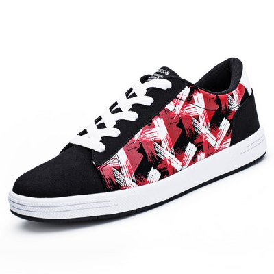 Casual Printed Skateboarding Shoes for MenCasual Shoes<br>Casual Printed Skateboarding Shoes for Men<br><br>Closure Type: Lace-Up<br>Features: Durable, Water Resistant<br>Package Contents: 1 x Pair of Shoes<br>Package size: 33.00 x 22.00 x 11.00 cm / 12.99 x 8.66 x 4.33 inches<br>Package weight: 0.8700 kg<br>Product weight: 0.7000 kg<br>Season: Spring, Summer, Autumn<br>Sole Material: Rubber<br>Type: Skateboarding Shoes