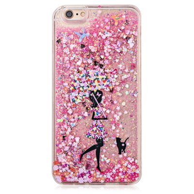 Fascinating Glitter Powder Girl Phone Cover for iPhone 6 Plus / 6S Plus