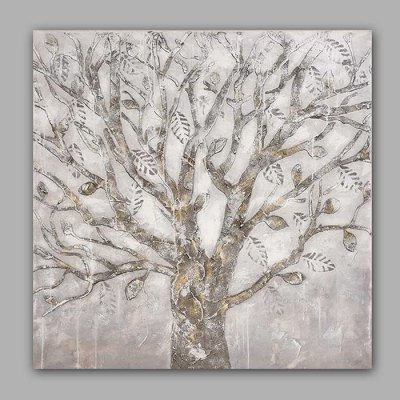 Canvas Oil Painting Abstract Tree Hand Painted Home Decor