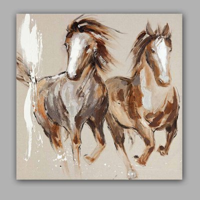 Canvas Oil Painting Horse Hand Painted Home Decor