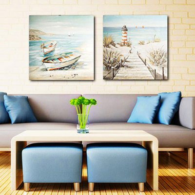 Canvas Oil Painting Seaview Hand Painted Home Decor