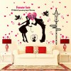 Buy Lovers DIY Home Decor Wallpaper Wall Sticker Mural COLORMIX