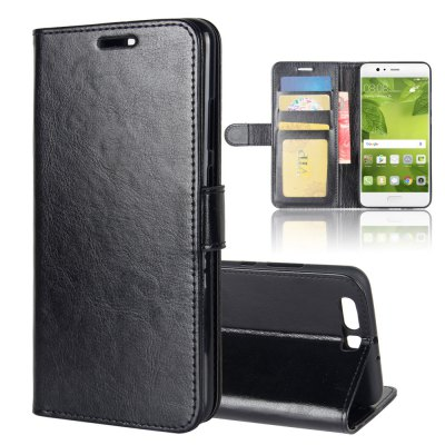 PU Leather Full Cover Wallet Phone Case for HUAWEI P10 Plus