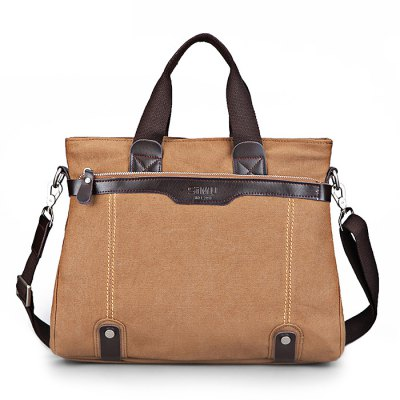 SIMU Casual Business Handbag for TravelingMens Bags<br>SIMU Casual Business Handbag for Traveling<br><br>Brand: SIMU<br>Closure Type: Zip<br>Material: Canvas, Polyester<br>Package Size(L x W x H): 30.00 x 36.00 x 9.00 cm / 11.81 x 14.17 x 3.54 inches<br>Package weight: 0.8700 kg<br>Packing List: 1 x SIMU Handbag<br>Product Size(L x W x H): 29.00 x 35.00 x 8.00 cm / 11.42 x 13.78 x 3.15 inches<br>Product weight: 0.8300 kg<br>Style: Business, Casual<br>Type: Handbag