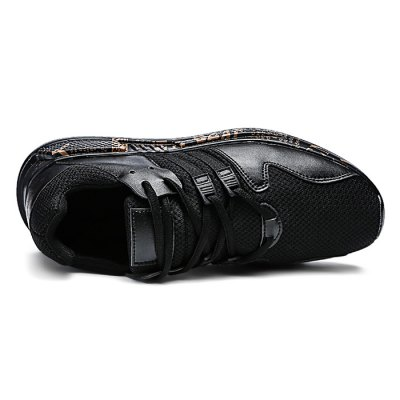 Leisure Mesh Running Shoes for MenHiking Shoes<br>Leisure Mesh Running Shoes for Men<br><br>Contents: 1 x Pair of Shoes, 1 x Pair of Shoes<br>Materials: Mesh, Rubber<br>Occasion: Casual<br>Package Size ( L x W x H ): 33.00 x 22.00 x 11.00 cm / 12.99 x 8.66 x 4.33 inches<br>Package Weights: 0.77kg<br>Seasons: Autumn,Spring,Summer<br>Style: Casual<br>Type: Casual Shoes<br>Upper Material: Mesh