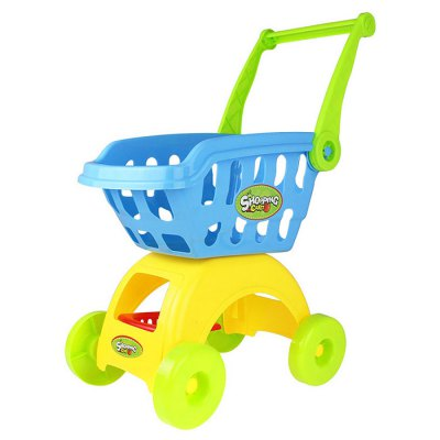 Supermarket Shopping Cart with KitchenwarePretend Play<br>Supermarket Shopping Cart with Kitchenware<br><br>Age: 3 Years+<br>Applicable gender: Unisex<br>Design Style: Kitchenware, Other<br>Features: Educational<br>Material: ABS<br>Package Contents: 1 x Pretend Play Toy Set<br>Package size (L x W x H): 31.50 x 19.50 x 17.50 cm / 12.4 x 7.68 x 6.89 inches<br>Package weight: 0.8200 kg<br>Product weight: 0.7300 kg<br>Small Parts : Yes<br>Type: Intelligence toys<br>Washing: Yes