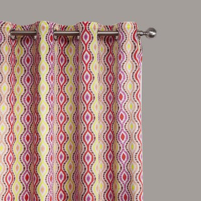 Ink-jet Printing Warm-toned Pattern Window Curtains 52W x 96LWindow Treatments<br>Ink-jet Printing Warm-toned Pattern Window Curtains 52W x 96L<br><br>Category: Curtain<br>For: All<br>Material: Polyester fibre<br>Occasion: Bedroom, Dining Room, Living Room<br>Package Contents: 2 x Window Curtain Panel, 2 x Tieback<br>Package size (L x W x H): 70.00 x 50.00 x 2.50 cm / 27.56 x 19.69 x 0.98 inches<br>Package weight: 2.1300 kg<br>Product weight: 2.0000 kg<br>Type: Eco-friendly, Decoration