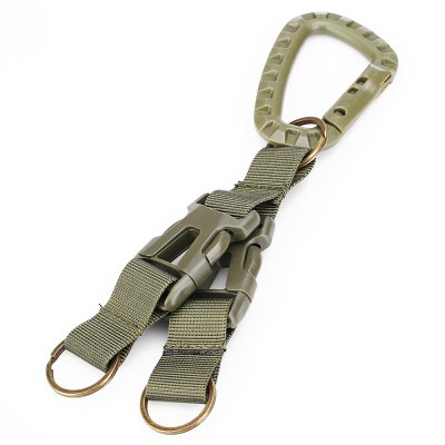 Hanging Buckle with 2 Belts for Waistband / MOLLE BackpackOther Sports Gadgets<br>Hanging Buckle with 2 Belts for Waistband / MOLLE Backpack<br><br>Package Contents: 1 x Hanging Buckle<br>Package Dimension: 17.00 x 7.00 x 4.00 cm / 6.69 x 2.76 x 1.57 inches<br>Package weight: 0.1000 kg<br>Product weight: 0.0600 kg