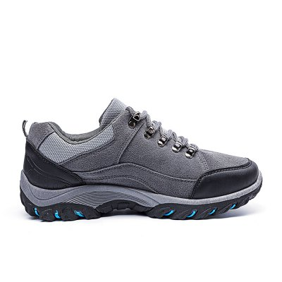 Outdoor Hiking / Climbing Shoes for MenAthletic Shoes<br>Outdoor Hiking / Climbing Shoes for Men<br><br>Closure Type: Lace-Up<br>Contents: 1 x Pair of Shoes<br>Materials: Rubber, Suede<br>Occasion: Rainy Day, Riding<br>Outsole Material: Rubber<br>Package Size ( L x W x H ): 33.00 x 22.00 x 11.00 cm / 12.99 x 8.66 x 4.33 inches<br>Package Weights: 1.02kg<br>Seasons: Autumn,Spring<br>Style: Leisure, Comfortable<br>Type: Hiking Shoes