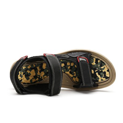 Stylish Leisure Sandals for MenMens Sandals<br>Stylish Leisure Sandals for Men<br><br>Contents: 1 x Pair of Shoes<br>Materials: Leather, MD, PU<br>Occasion: Beach, Casual<br>Package Size ( L x W x H ): 33.00 x 22.00 x 11.00 cm / 12.99 x 8.66 x 4.33 inches<br>Package Weights: 0.77kg<br>Seasons: Summer<br>Style: Leisure, Comfortable<br>Type: Sandals