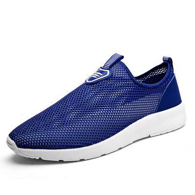 Breathable Mesh Lazy Shoes for MenCasual Shoes<br>Breathable Mesh Lazy Shoes for Men<br><br>Contents: 1 x Pair of Shoes<br>Materials: MD, Mesh<br>Occasion: Casual, Daily<br>Package Size ( L x W x H ): 33.00 x 22.00 x 11.00 cm / 12.99 x 8.66 x 4.33 inches<br>Package Weights: 0.57kg<br>Seasons: Autumn,Spring,Summer<br>Style: Leisure, Comfortable<br>Type: Casual Shoes