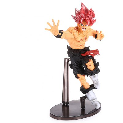 Red-haired Fighting Man PVC Action Figure Toy 217396401