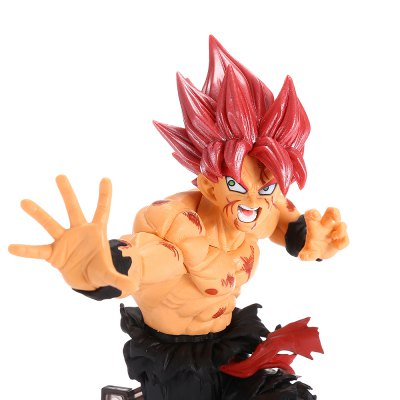 Red-haired Fighting Man PVC Action Figure Toy цена
