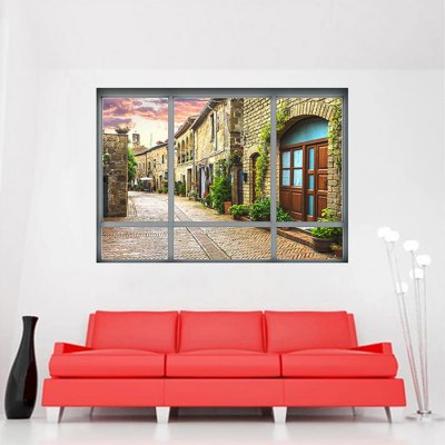 3D Italy City Street Wall StickerWall Stickers<br>3D Italy City Street Wall Sticker<br><br>Art Style: Plane Wall Stickers<br>Color Scheme: Multicolor<br>Functions: Decorative Wall Stickers<br>Hang In/Stick On: Bedrooms,Cafes,Hotels,Living Rooms,Offices<br>Material: Vinyl(PVC)<br>Package Contents: 1 x Sticker<br>Package size (L x W x H): 48.50 x 4.00 x 4.00 cm / 19.09 x 1.57 x 1.57 inches<br>Package weight: 0.1500 kg<br>Product weight: 0.1100 kg