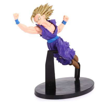 Fighting Budokai Action FigureMovies &amp; TV Action Figures<br>Fighting Budokai Action Figure<br><br>Completeness: Finished Goods<br>Gender: Boys<br>Materials: PVC<br>Package Contents: 1 x Action Figure ( with Mount )<br>Package size: 12.00 x 9.00 x 17.50 cm / 4.72 x 3.54 x 6.89 inches<br>Package weight: 0.2540 kg<br>Product size: 13.50 x 5.50 x 15.00 cm / 5.31 x 2.17 x 5.91 inches<br>Product weight: 0.1900 kg<br>Stem From: Japan<br>Theme: Movie and TV