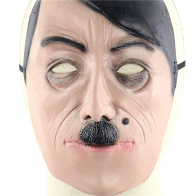 Nazi Hitler Latex MaskClassic Toys<br>Nazi Hitler Latex Mask<br><br>Appliable Crowd: Unisex<br>Materials: Latex<br>Nature: Other<br>Package Contents: 1 x Mask<br>Package size: 24.00 x 20.00 x 1.00 cm / 9.45 x 7.87 x 0.39 inches<br>Package weight: 0.0950 kg<br>Product size: 23.00 x 19.00 x 4.00 cm / 9.06 x 7.48 x 1.57 inches<br>Product weight: 0.0600 kg