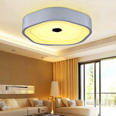 Modern Simple Acrylic Creative LED Ceiling Lamp 220VFlush Ceiling Lights<br>Modern Simple Acrylic Creative LED Ceiling Lamp 220V<br><br>Beam Angle: 360 degree<br>Features: Remote-Controlled<br>Illumination Field: 12 - 20sqm<br>Luminous Flux: 2000LM<br>Optional Light Color: Natural White,Warm White,White<br>Package Contents: 1 x Light, 1 x Remote Control<br>Package size (L x W x H): 55.00 x 55.00 x 20.00 cm / 21.65 x 21.65 x 7.87 inches<br>Package weight: 3.5500 kg<br>Product size (L x W x H): 45.00 x 45.00 x 10.00 cm / 17.72 x 17.72 x 3.94 inches<br>Product weight: 3.0000 kg<br>Sheathing Material: Acrylic, Iron<br>Type: Ceiling Lights<br>Voltage (V): 220V<br>Wattage (W): 24<br>Wavelength / CCT: 3000K,4000K,6500K