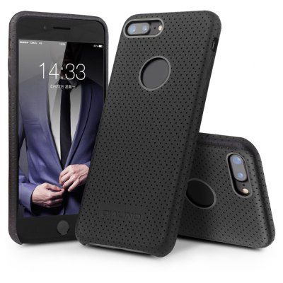 QIALINO Business PU Protective Back Case for iPhone 7