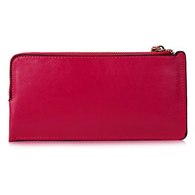 Women Zipper Solid Color Leather WalletWallets<br>Women Zipper Solid Color Leather Wallet<br><br>Closure Type: Zip<br>Material: Leather, Polyester<br>Package Size(L x W x H): 22.50 x 3.00 x 12.00 cm / 8.86 x 1.18 x 4.72 inches<br>Package weight: 0.1600 kg<br>Packing List: 1 x Wallet<br>Product Size(L x W x H): 21.50 x 1.50 x 11.00 cm / 8.46 x 0.59 x 4.33 inches<br>Product weight: 0.0970 kg<br>Style: Fashion, Classics, Casual<br>Type: Wallet