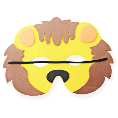 EVA Performance Props Cartoon Mask of Lion Picture