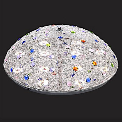 Round Shape Crystal LED Ceiling Light 220VFlush Ceiling Lights<br>Round Shape Crystal LED Ceiling Light 220V<br><br>Features: Remote-Controlled<br>Illumination Field: 15 - 18sqm<br>Luminous Flux: 2600lm<br>Optional Light Color: Natural White,Warm White + White<br>Package Contents: 1 x Ceiling Light, 1 x Remote Controller<br>Package size (L x W x H): 60.00 x 60.00 x 22.00 cm / 23.62 x 23.62 x 8.66 inches<br>Package weight: 4.0500 kg<br>Product size (L x W x H): 50.00 x 50.00 x 12.00 cm / 19.69 x 19.69 x 4.72 inches<br>Product weight: 3.5000 kg<br>Sheathing Material: Metal, Glass, Crystal<br>Type: Ceiling Lights<br>Voltage (V): 220V<br>Wattage (W): 30<br>Wavelength / CCT: 2700-6500K
