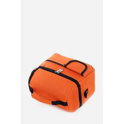 Leisure Portable Large Capacity Neoprene Picnic Tote Lunch BagLunch Bags<br>Leisure Portable Large Capacity Neoprene Picnic Tote Lunch Bag<br><br>Closure Type: Zipper<br>Gender: Unisex<br>Main Material: Oxford Fabric<br>Package Contents: 1 x Bag<br>Package size (L x W x H): 25.00 x 17.00 x 21.00 cm / 9.84 x 6.69 x 8.27 inches<br>Package weight: 0.5300 kg<br>Product size (L x W x H): 25.00 x 16.00 x 20.00 cm / 9.84 x 6.3 x 7.87 inches<br>Product weight: 0.3800 kg<br>Style: Casual