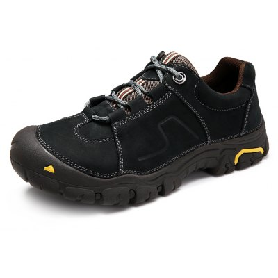 Genuine Leather Outdoor Hiking / Climbing Shoes for Men