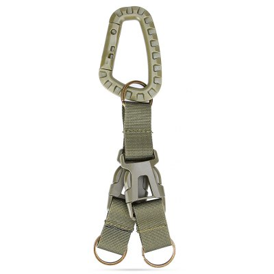 Hanging Buckle with 2 Belts for Waistband / MOLLE Backpack