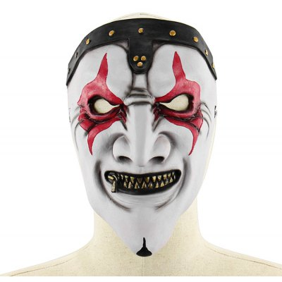 Scary Zipper Mouth Pop Music Singer Latex Mask
