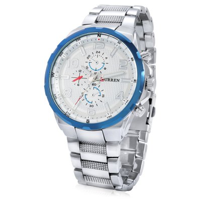 8276 Fashion Quartz Men WatchMens Watches<br>8276 Fashion Quartz Men Watch<br><br>Band material: Alloys<br>Brand: Curren<br>Case material: Alloy<br>Clasp type: Folding clasp with safety<br>Display type: Analog<br>Hour formats: 12 Hour<br>Movement type: Quartz watch<br>Package Contents: 1 x Watch, 1 x Box<br>Package size (L x W x H): 23.80 x 5.70 x 2.20 cm / 9.37 x 2.24 x 0.87 inches<br>Package weight: 0.2200 kg<br>Product size (L x W x H): 22.80 x 4.70 x 1.20 cm / 8.98 x 1.85 x 0.47 inches<br>Product weight: 0.1610 kg<br>The band width: 2.2cm<br>The dial diameter: 4.7cm<br>The dial thickness: 1.2cm<br>Watches categories: Men<br>Water resistance : Life water resistant