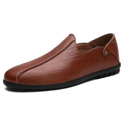 Men Durable Slip-on Casual Lazy ShoesMen's Oxford<br>Men Durable Slip-on Casual Lazy Shoes<br><br>Closure Type: Slip-On<br>Contents: 1 x Pair of Shoes<br>Function: Slip Resistant<br>Materials: Rubber, Genuine Leather<br>Occasion: Casual<br>Outsole Material: Rubber<br>Package Size ( L x W x H ): 33.00 x 22.00 x 11.00 cm / 12.99 x 8.66 x 4.33 inches<br>Package Weights: 0.87kg<br>Seasons: Autumn,Spring,Summer<br>Style: Casual<br>Type: Casual Shoes<br>Upper Material: Leather
