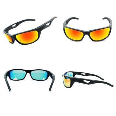 Anti-dust Protective Polarized Lens Cycling GlassesCycling Sunglasses<br>Anti-dust Protective Polarized Lens Cycling Glasses<br><br>Ear-stems Length: 125mm<br>Features: Anti-UV, Polarized lens, Replaceable Lens<br>Frame Metarial: TR90<br>Gender: Unisex<br>Lens height: 36mm<br>Lens width: 66mm<br>Nose bridge width: 35mm<br>Package Contents: 1 x Cycling Glasses, 1 x Box, 1 x Cleaning Cloth<br>Package Size(L x W x H): 17.00 x 8.00 x 6.50 cm / 6.69 x 3.15 x 2.56 inches<br>Package weight: 0.1200 kg<br>Product Size(L x W x H): 14.60 x 12.50 x 3.60 cm / 5.75 x 4.92 x 1.42 inches<br>Product weight: 0.0260 kg<br>Suitable for: Traveling, Mountaineering, Hiking, Cycling<br>Whole Length: 146mm