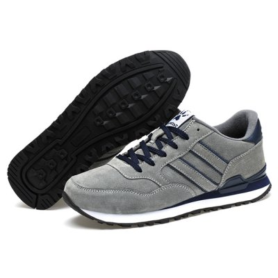 Lace-up Leisure Spots Shoes for MenAthletic Shoes<br>Lace-up Leisure Spots Shoes for Men<br><br>Closure Type: Lace-Up<br>Contents: 1 x Pair of Shoes<br>Materials: Rubber, Suede<br>Occasion: Casual<br>Outsole Material: Rubber<br>Package Size ( L x W x H ): 33.00 x 24.00 x 13.00 cm / 12.99 x 9.45 x 5.12 inches<br>Package Weights: 0.82kg<br>Seasons: Autumn,Spring,Summer<br>Style: Leisure, Casual<br>Type: Casual Shoes<br>Upper Material: Suede