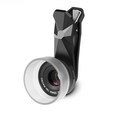 Pholes 8125 10X High Definition Phone Micro LensPhone Lenses<br>Pholes 8125 10X High Definition Phone Micro Lens<br><br>Brand: Pholes<br>Magnification ?Telephoto Lens ): 10X<br>Material: Metal, Optical glass<br>Package Contents: 1 x Clip, 1 x Lens, 1 x Cap<br>Package size (L x W x H): 6.50 x 5.00 x 12.00 cm / 2.56 x 1.97 x 4.72 inches<br>Package weight: 0.0880 kg<br>Product size (L x W x H): 1.80 x 1.80 x 1.30 cm / 0.71 x 0.71 x 0.51 inches<br>Product weight: 0.0270 kg