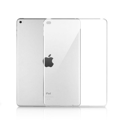 Transparent TPU Soft Back Cover Case for iPad Air 2iPad Cases/Covers<br>Transparent TPU Soft Back Cover Case for iPad Air 2<br><br>Compatible for Apple: iPad Air 2<br>Features: Anti-knock, Back Cover<br>Material: TPU<br>Package Contents: 1 x Cover Case<br>Package size (L x W x H): 28.50 x 21.00 x 1.80 cm / 11.22 x 8.27 x 0.71 inches<br>Package weight: 0.1070 kg<br>Product size (L x W x H): 24.30 x 17.30 x 0.80 cm / 9.57 x 6.81 x 0.31 inches<br>Product weight: 0.0730 kg<br>Style: Modern, Transparent