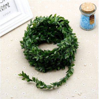 Plastic Iron Wire Artificial Rattan for Garland DIY